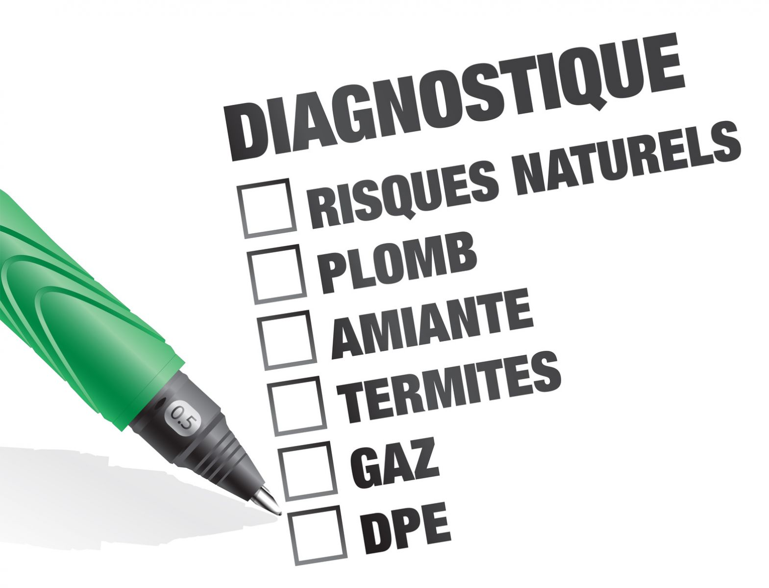 Diagnostics obligatoires à la location